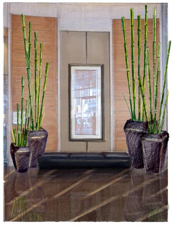 Adding some bamboo shoots to your home can liven the place - Bamboo designs for interior designing ...