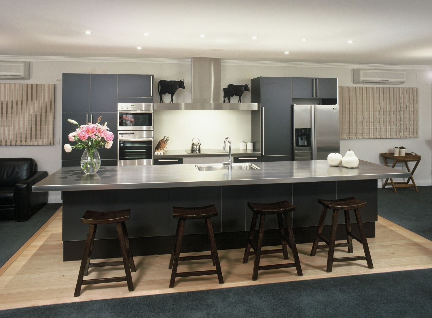 Woburn Poggenpohl Kitchen. Design By Damian Hannah From German Kitchens  Limited In Wellington, NZ