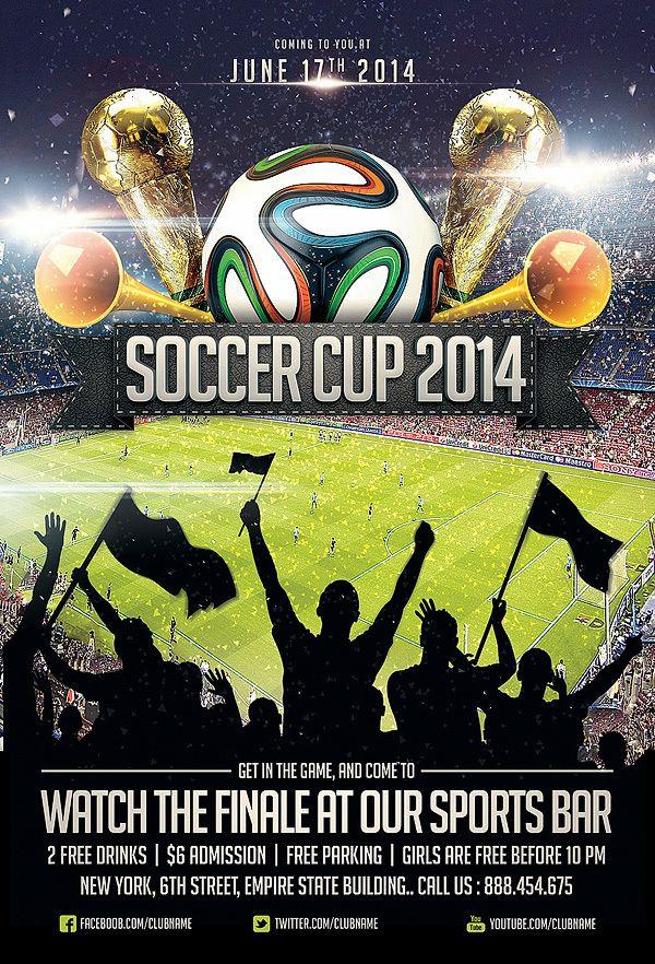 Collection of Sports Flyer Templates by Ali Rahmoun, via Behance ...