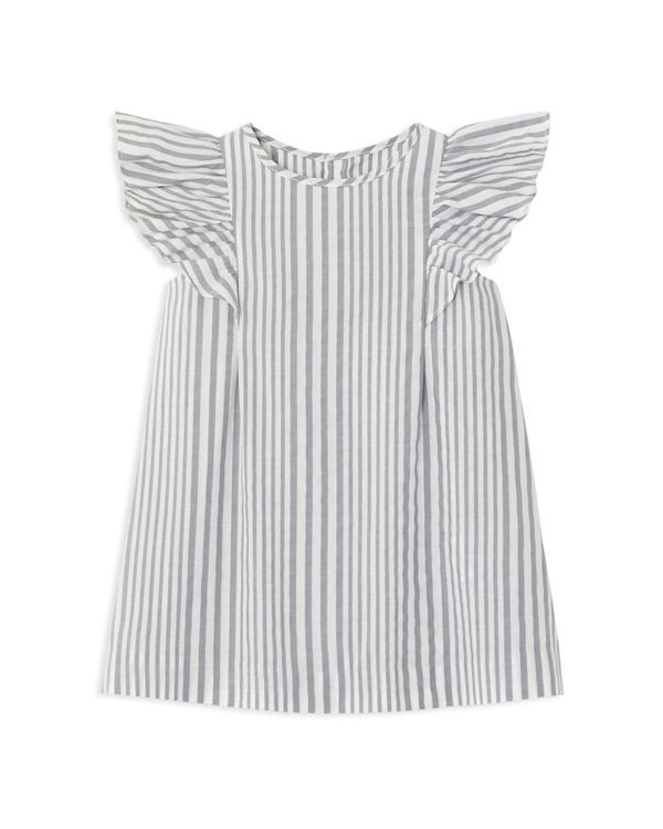 92287e25 Jacadi Infant Girls' Flutter Sleeve Striped Dress & Bloomers Set - Sizes  6-18 Months Kids - Bloomingdale's