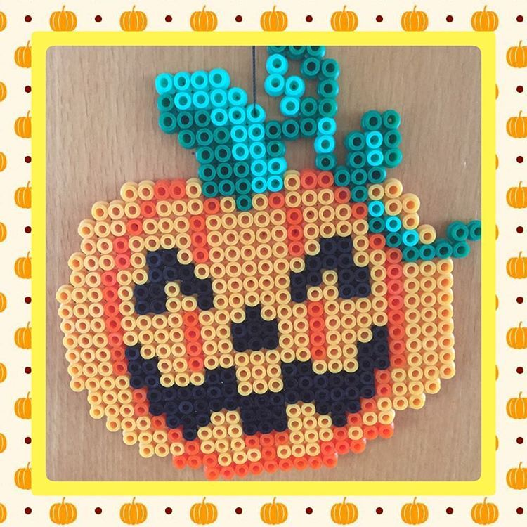 Halloween hama beads by gittejulie