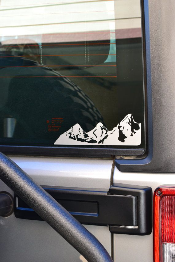 Mountains Decal Set Jeeps Pinterest Jeeps Cars And Subaru