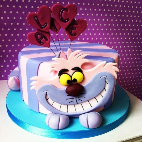 simple alice in wonderland cakes Google Search Alice in