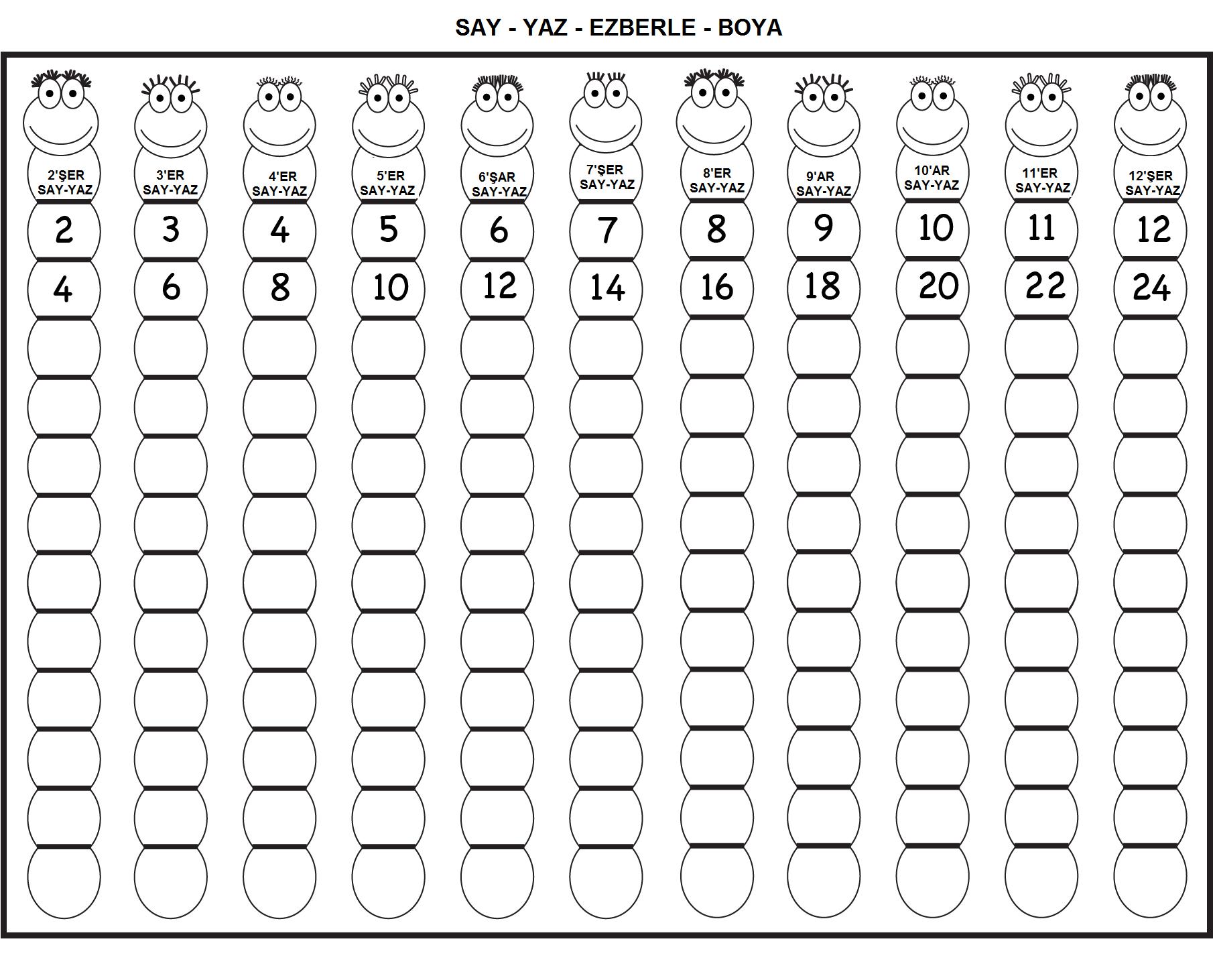 Pin By Clara Beltran On Ritmik Sayma Math Counting Math Worksheets Free Math Worksheets [ 1462 x 1810 Pixel ]
