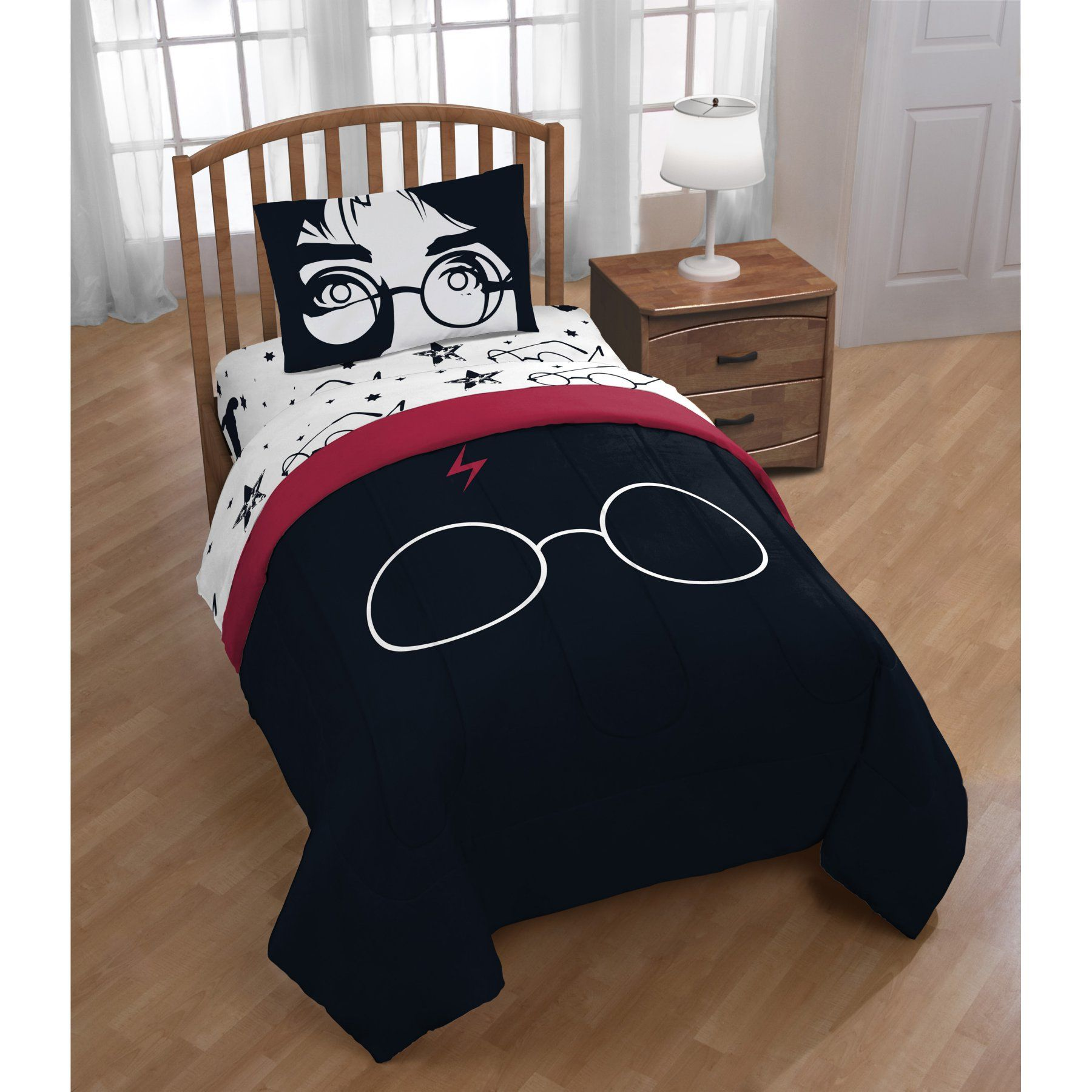 Bettwäsche Harry Potter Harry Potter Always Reversible Full Comforter By Warner Brothers
