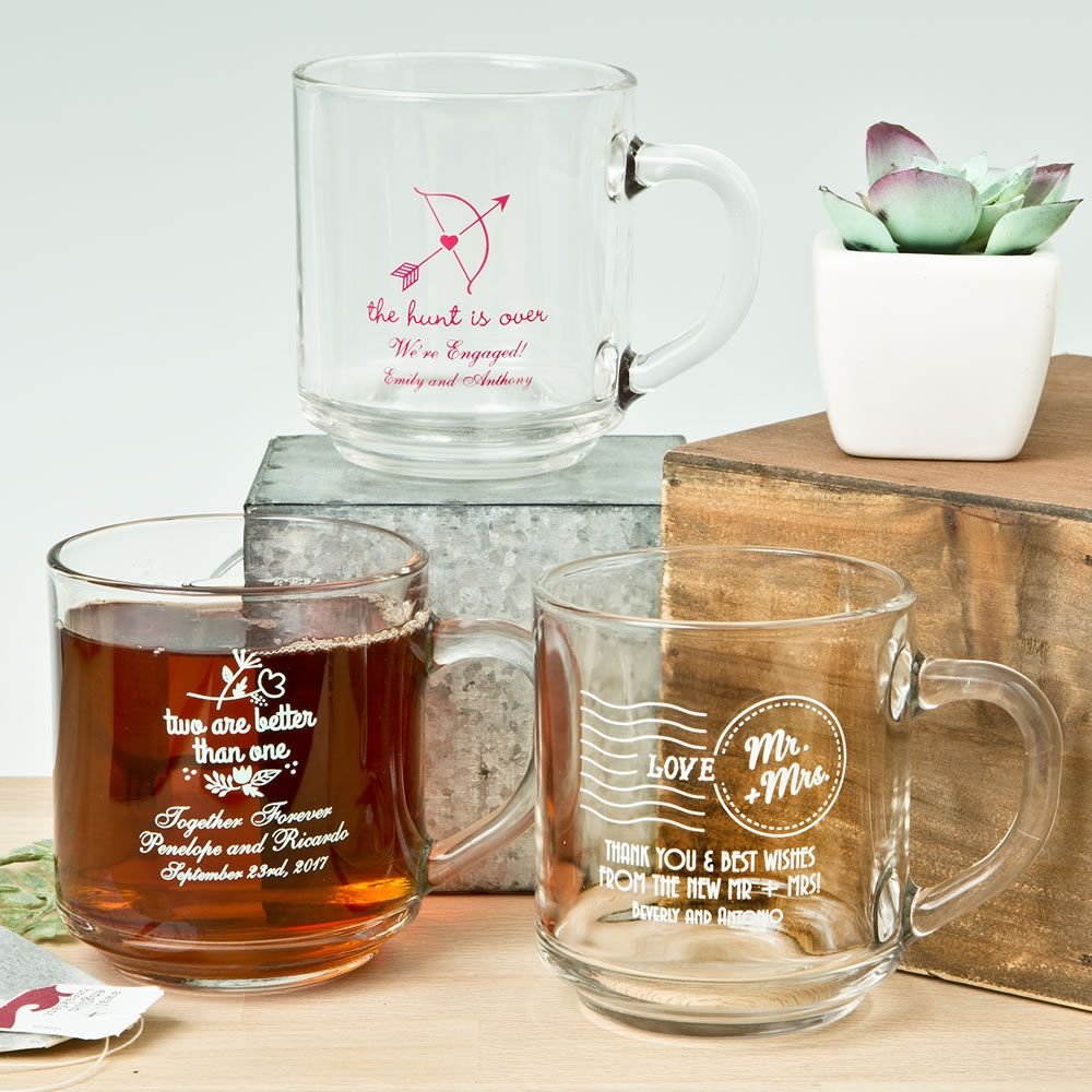 Expressions 10 Oz Handy Mug Favors | Favors and Engagement