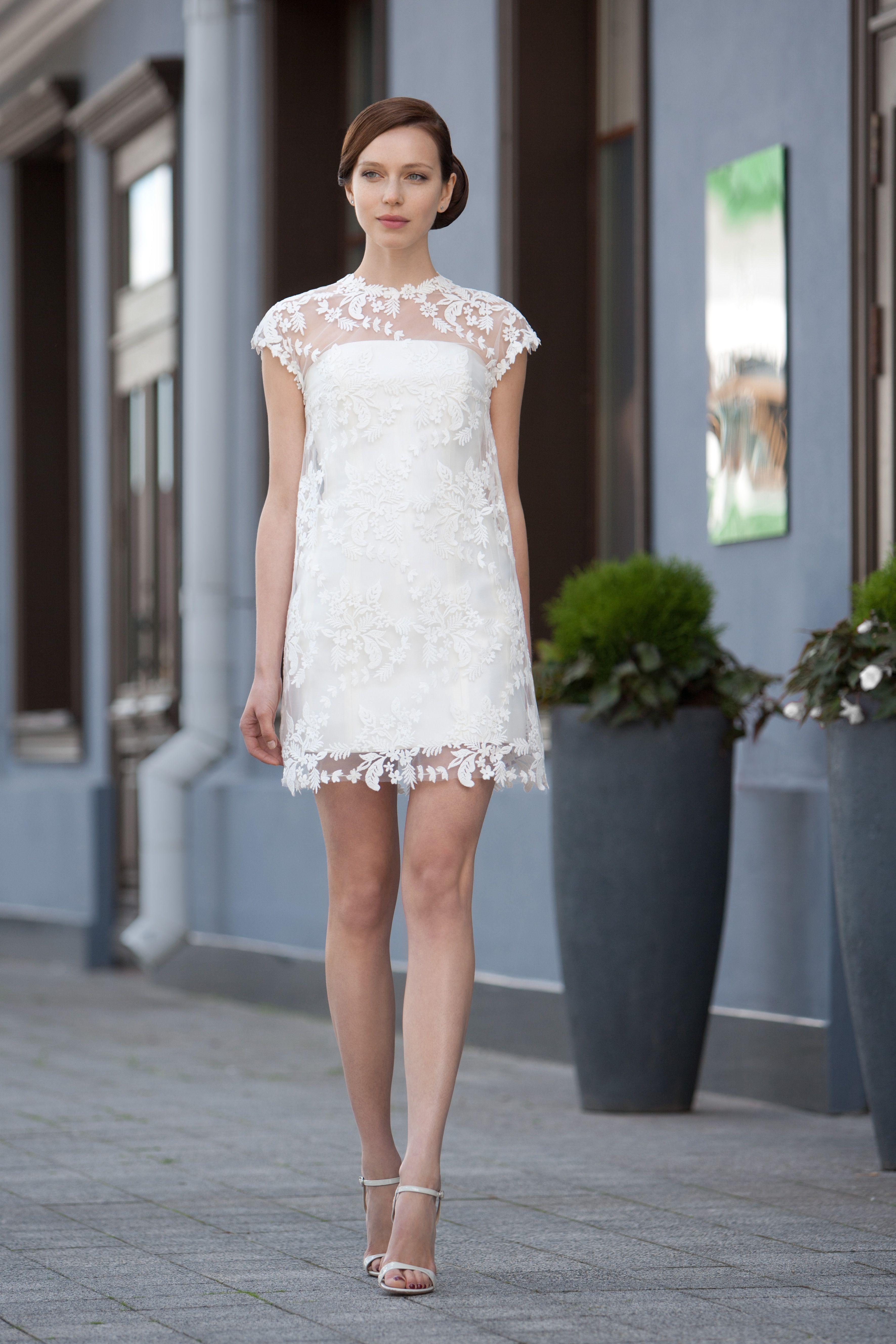 Short boho wedding dress  BETCY  Short Wedding Dress can be Classical Swiss Wedding