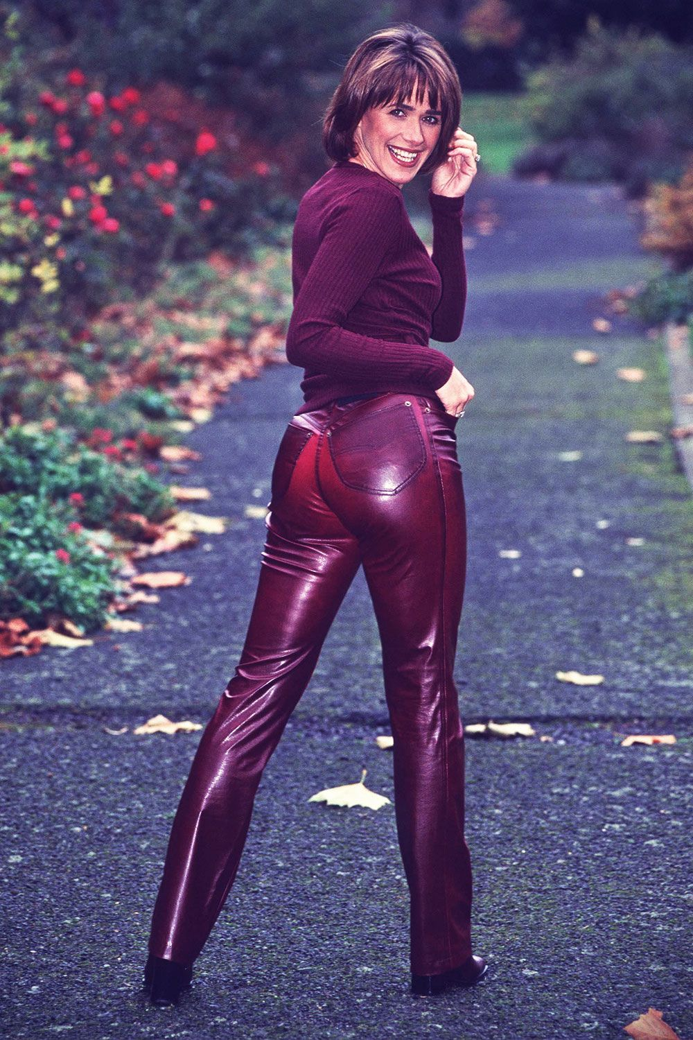 See how these midlife women look stunning in leather high latitude style