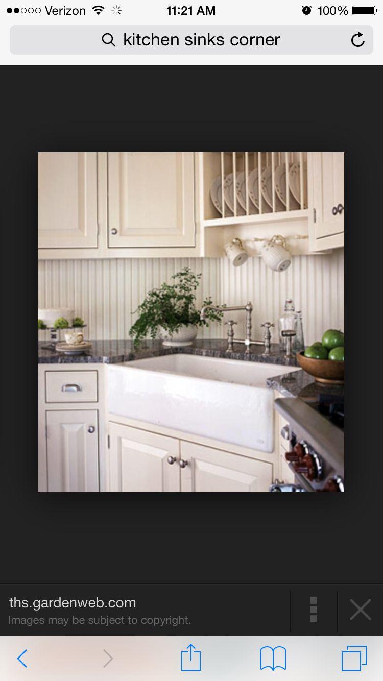 Corner window kitchen sink  pin by tara luers on kitchen ideas  pinterest  sinks and kitchens