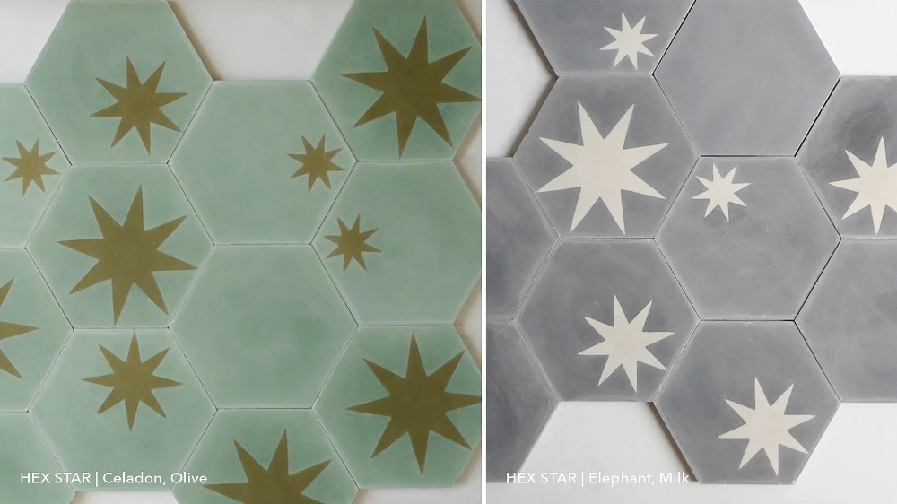 star tile hexagon tiles