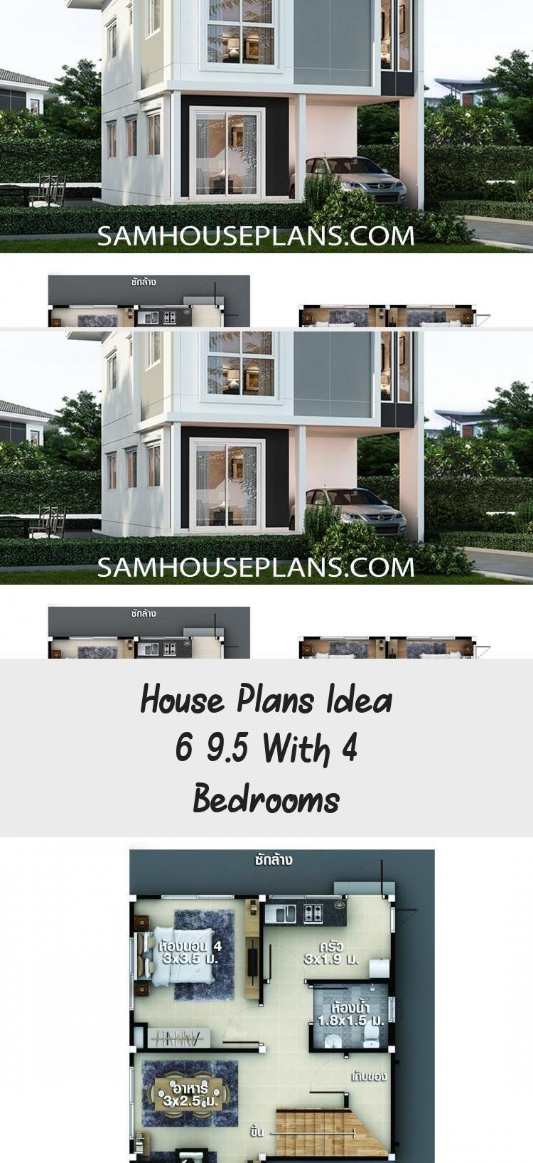 House Plans Idea 6x9 5 With 4 Bedrooms Sam House Plans Cabinhouseplans Houseplansluxury Contemporar In 2020 House Plans House Plans South Africa Cabin House Plans