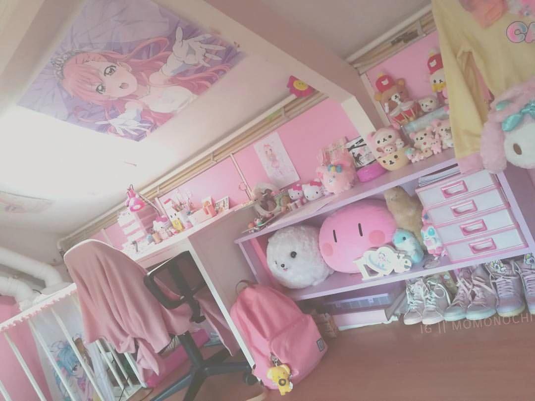 Kawaiifurniture With Images Otaku Room Kawaii Room Kawaii