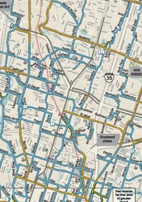 Going For A Bike Ride Check Out The Austin Texas Bicycle Map For