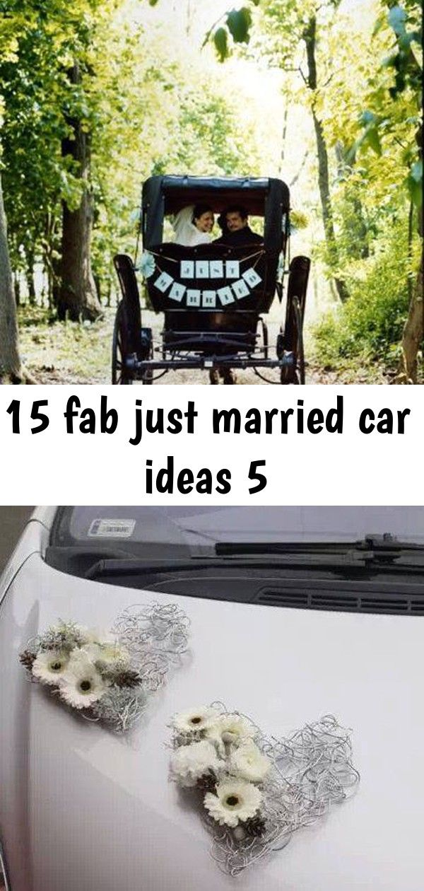 15 fab just married car ideas 5  just married car just