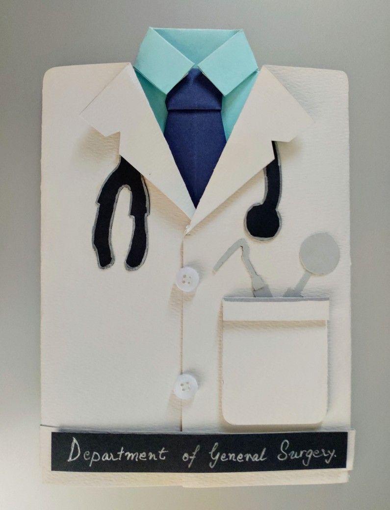 Graduation Convocation Card For Doctors Birthday Cards Diy Cards Origami Tie