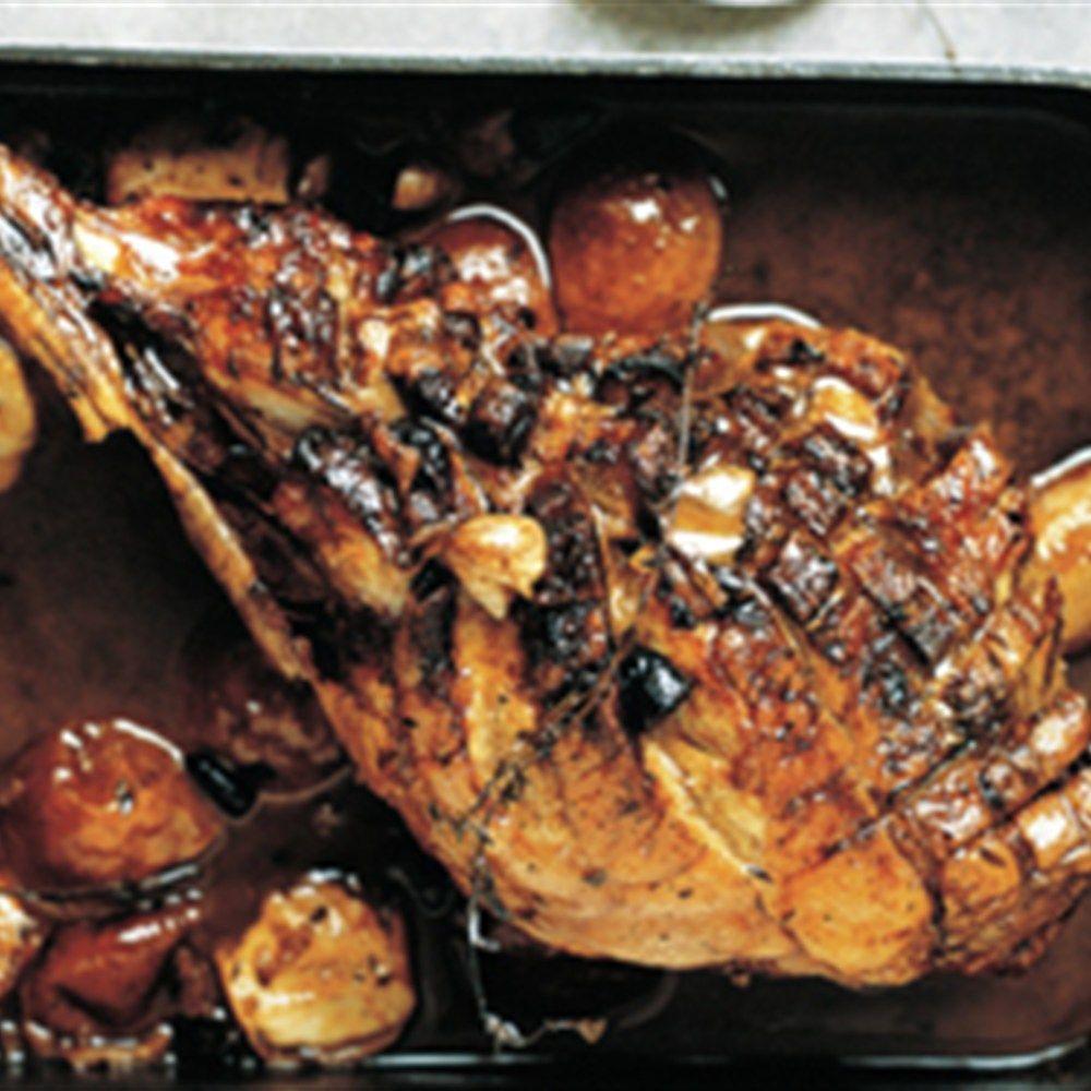 Cider And Honey Roast Leg Of Lamb Lifestyle Recipe Lamb Recipes Gordon Ramsey Recipes Gordon Ramsay Recipe