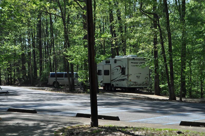 Deerlick Creek Campground is located on Holt Lake on the Black Warrior-Tombigbee Waterway northeast of Tuscaloosa, Alabama.  The facility is in a beautiful forest along the shoreline, providing campers and day-use visitors with access to water sports, boating, fishing, swimming, hiking and biking. For more information on this campground or other camping in Alabama, visit www.ItHappensinAlabama.com