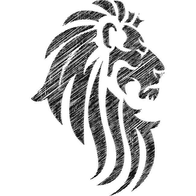 Lion Tribal Tattoo Cool Style T Shirt By Ddtk Design By Humans Tribal Lion Tattoo Tribal Tattoos Tribal Lion