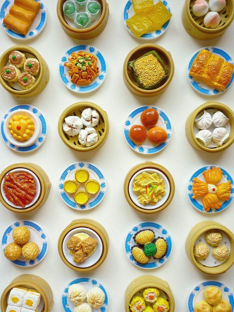 Chinese Dim Sum Miniature Food Dim Sum Food