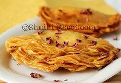 Praghree  Deep Fried Crunchy layered Puffs Sindhi Sweet   Sindhi Rasoi  Sindhi Recipes