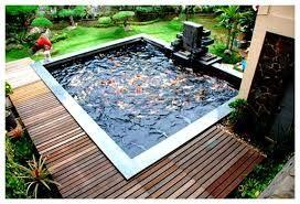 image result for kolam ikan kecil minimalis   kolam ikan