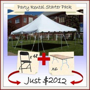 $2012 - What a deal if you are trying to get an event business going! :)