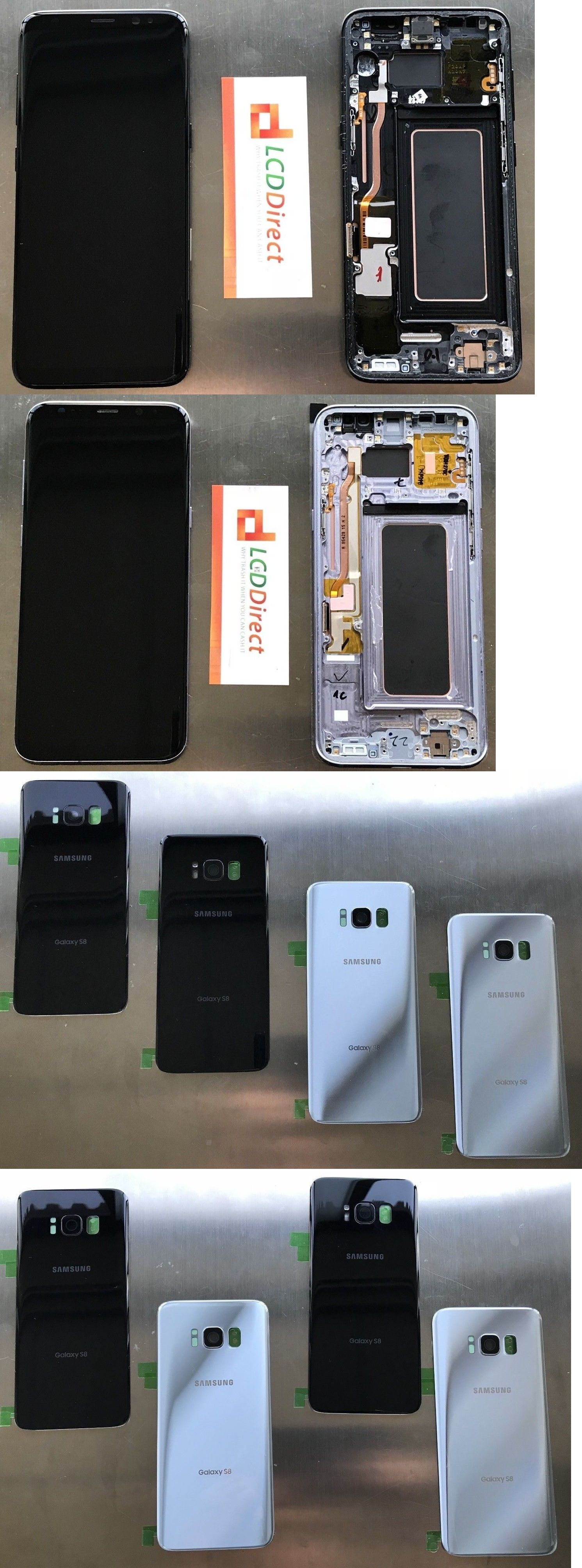 Cell Phone Parts 182072: Samsung Galaxy S8 Plus G955 Front And Back