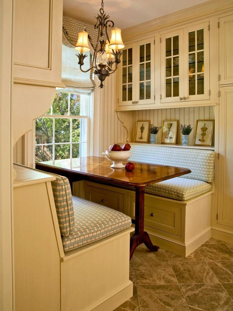 Eat In Kitchen Floor Plans Lovely Eat In Kitchen Table Dark Brown Upholstered Seatings In 2020 Eat In Kitchen Table Corner Kitchen Tables Banquette Seating In Kitchen