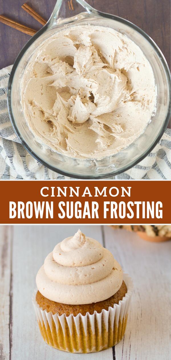 Cinnamon Brown Sugar Frosting