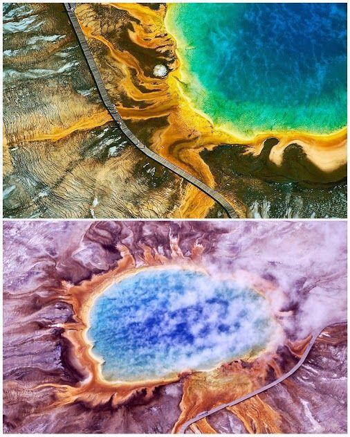 Tania Santafosta: Google+ - La Gran Fuente Prismática Parecen unos lienzos de pintura…