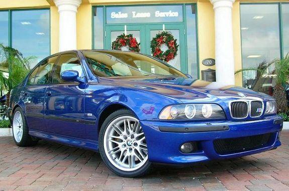 Bmw E39 M5 Bright Blue Bmw Bmw E39 Bmw 528i