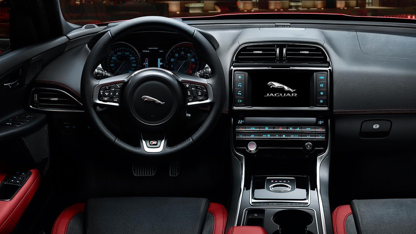 Jaguar XE S Interior   2014   Jaguar
