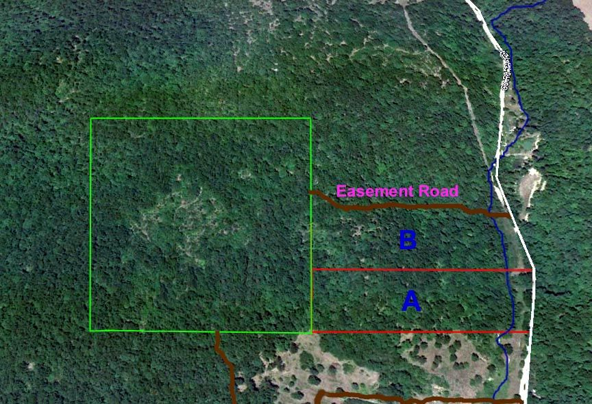 Beautiful 8 acre property with a creek homestead land
