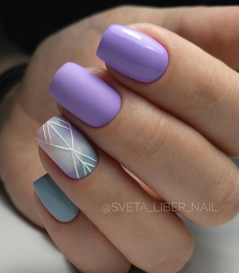58 Eye Catching Winter Nail Art Design Ideas | Winter nail art ...