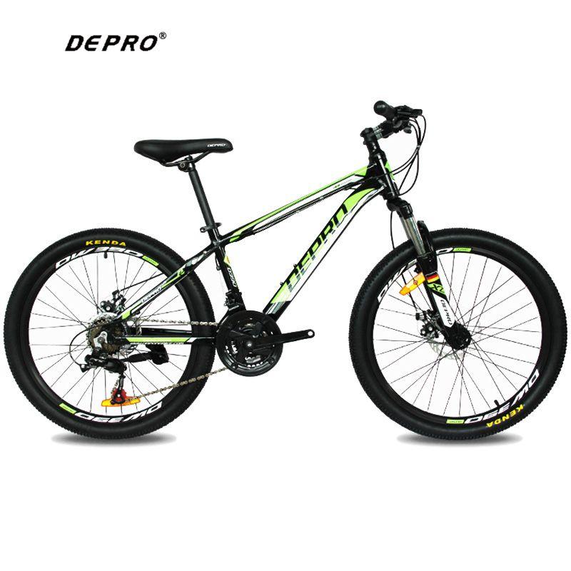 DEPRO 21 Speed 24 Inch 9-13 Y Students Mountain Bikes Brake Gear MTB ...
