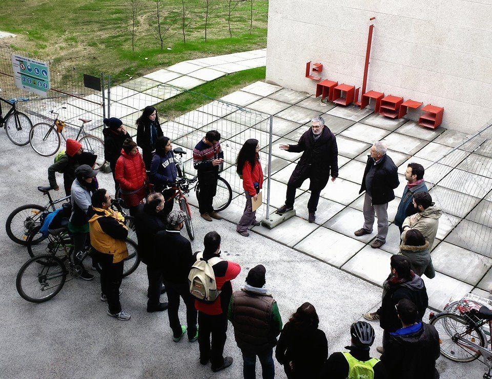 IX Bicipaseo Patrimonial por Ourense. Bicipaseo de nadal / Visita FabLab La Molinera