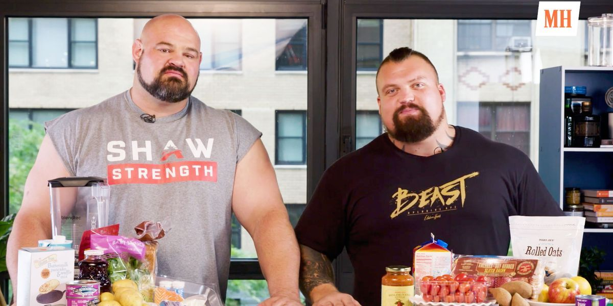 Here S How The World S Strongest Men Eat Over 10 000 Calories In A Single Day World S Strongest Man Eddie Hall Strongman