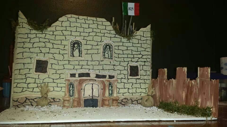 Alamo Mission Pictures Kids Build