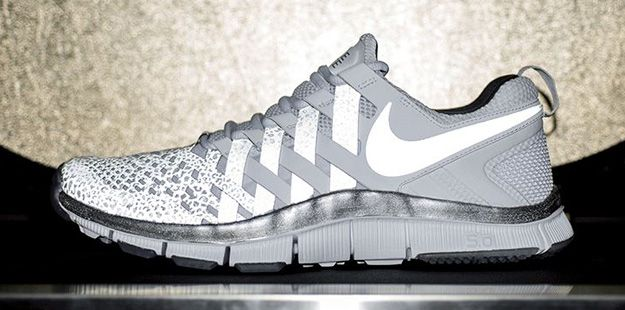 Hommes Nike Free Trainer 5.0 Chaussures De Formation Gumpo Blanc