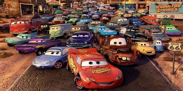 Disegni Da Colorare Di Cars 1