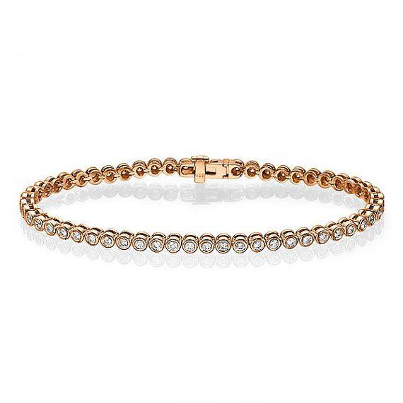 638661cfeee Rose Gold Diamond Bracelet