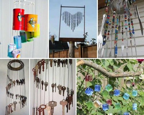 30 Awesome DIY Wind Chimes Ideas - http://www.homesteadingfreedom.com/30-awesome-diy-wind-chimes-ideas/