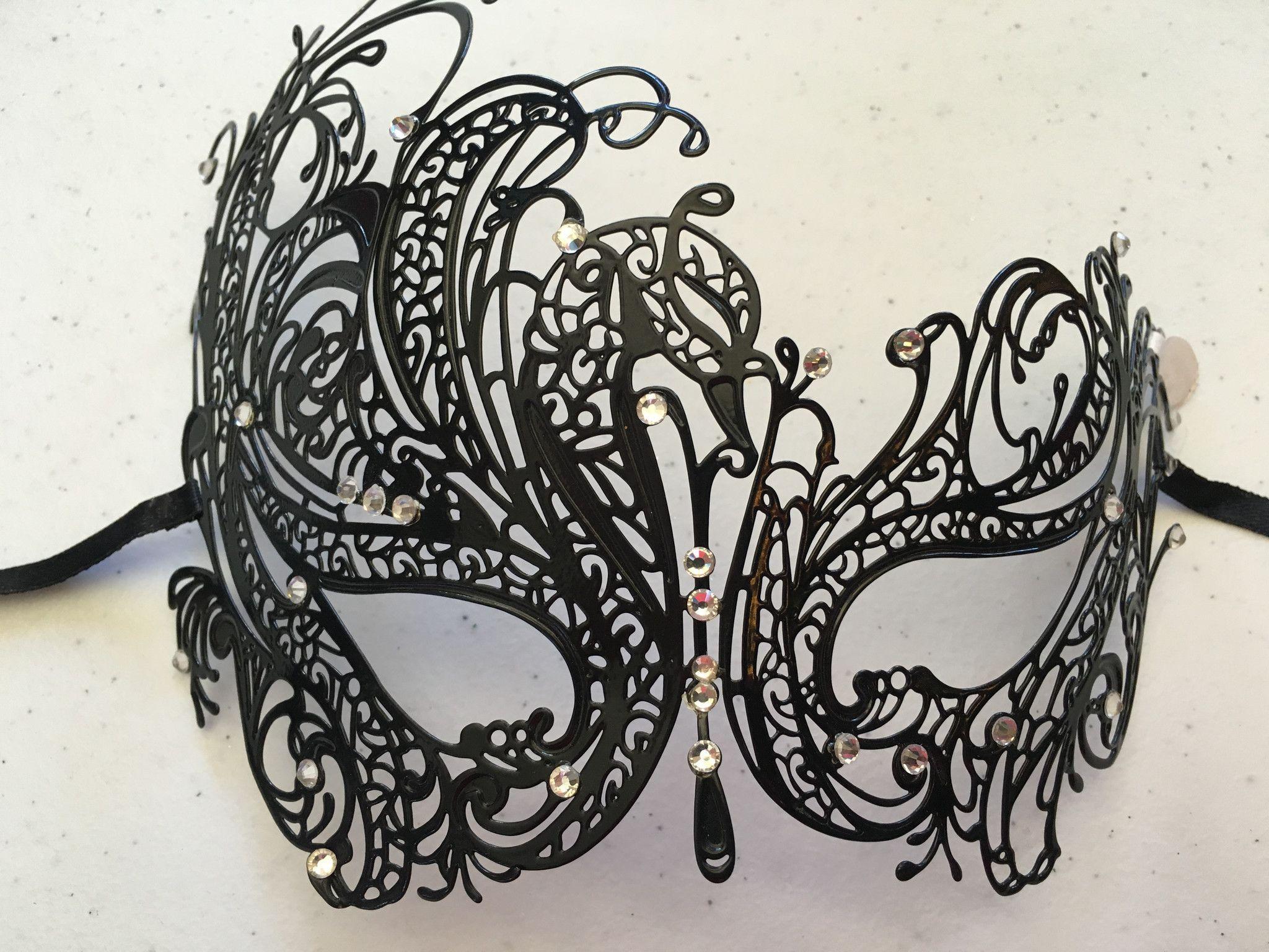 Metal Mardi Gras Mask