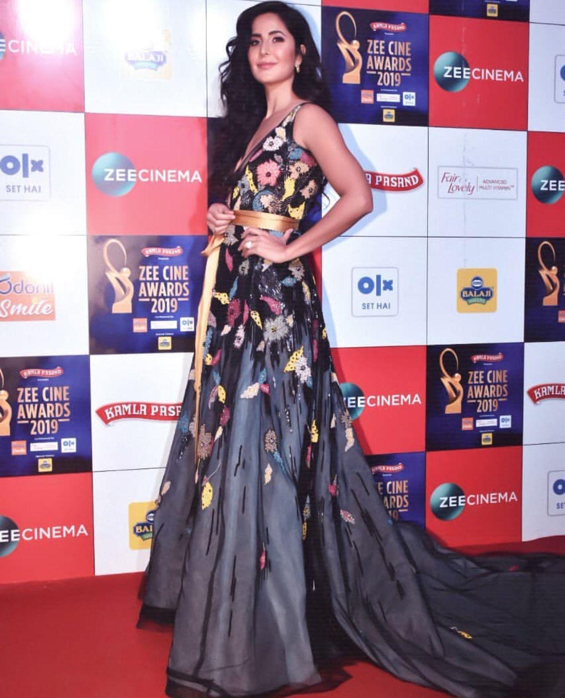 Katrina In Zee Cine Awards Indian Celebrities Bollywood Actress Katrina
