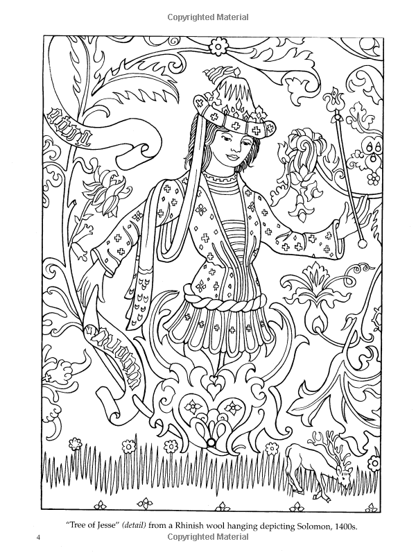 Medieval Tapestries Coloring Book Dover Fashion Coloring Book Marty Noble 9780486436869 Amazon C Fashion Coloring Book Coloring Books Dover Coloring Pages