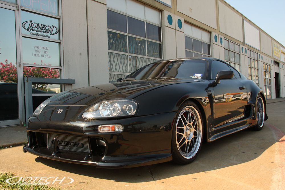Supra — Black GT45R Turbo by Jotech Motorsports in Garland