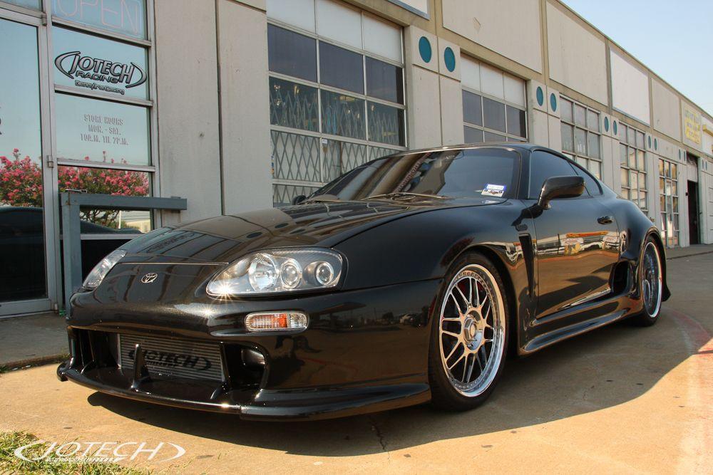 Supra — Black GT45R Turbo by Jotech Motorsports in Garland