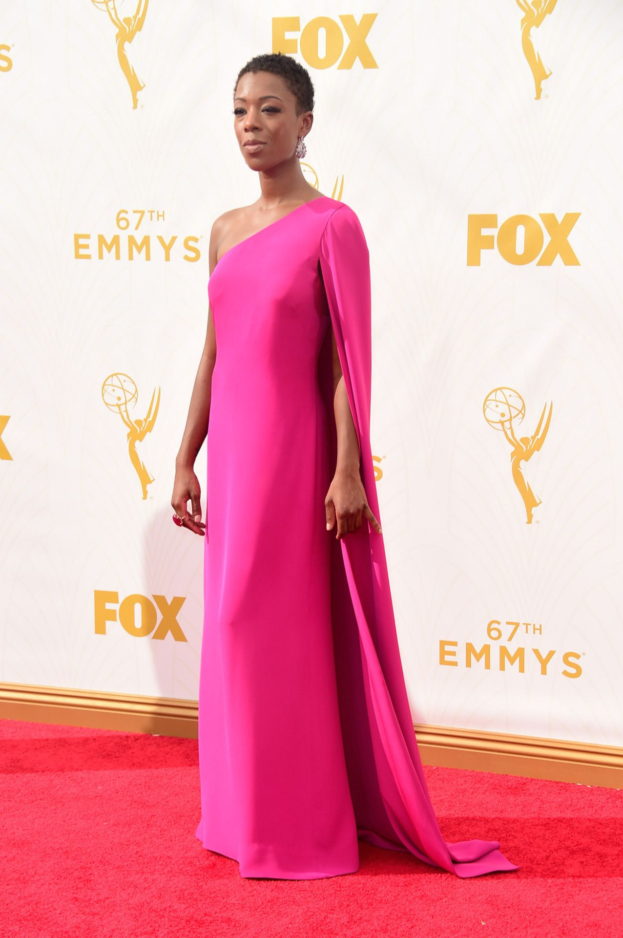 Samira Wiley attends the 67th Annual Primetime Emmy Awards at ...