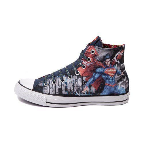 Converse All Star Hi Superman Sneaker DC COMICS fashion