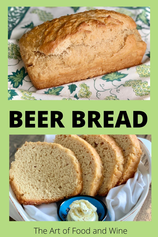 Beer Bread with 4 Ingredients | Recipe in 2020 | Beer ...